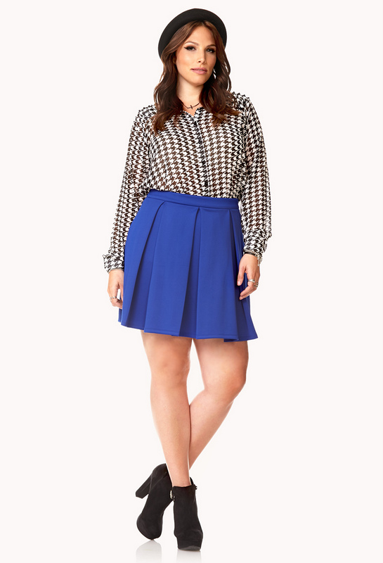 the curvy fashionista 10 plus size skater skirts for