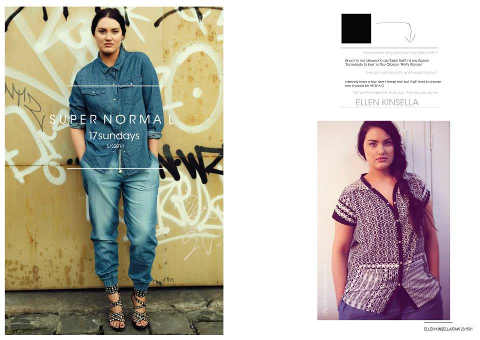 SUPERNORMALS by Australian Plus Size Brand 17 Sundays