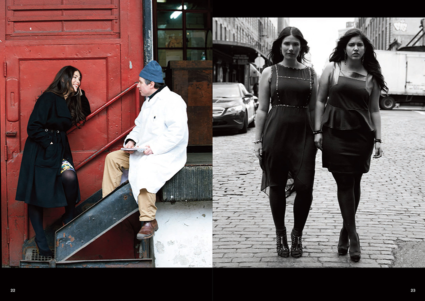 Plus Size Designer Anna Scholz Fall 2013 Black Label Collection