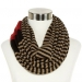 Liz Claiborne Striped Infinity Scarf on sale at JCPenny on the Curvy Fashionista