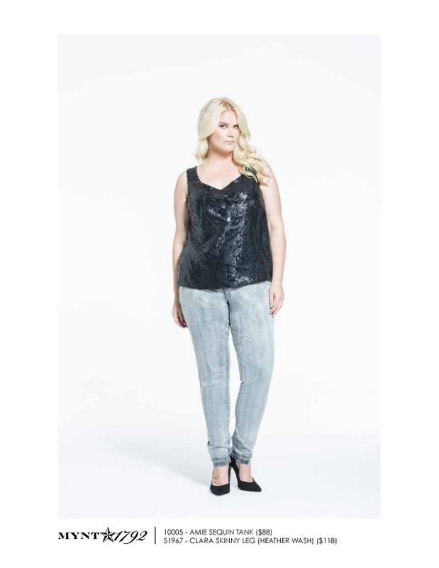 Mynt 1792 Fall 2013 Plus Size Denim look book