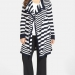 anne-klein-stripe-long-flyaway-cardigan-Plus Size Cardigans on The Curvy Fashionista
