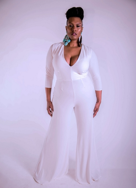 Plus Size Designer Shanda Freeman  the-cher-jumpsuit