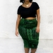 Plus size designer- Zelie for She forever-young-emerald-skirt