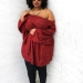 Plus size designer- Zelie for She forever-young-janis-sweater