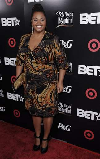 Singer Jill Scott arrives at the BET Awards '08 Pre-Party in Los Angeles, Monday, June 23, 2008. (AP Photo/Chris Pizzello)