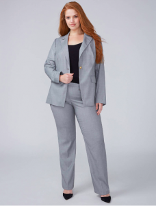 A Plus- Size Woman's Guide for Shopping- The Transformational Suit