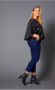 A Plus- Size Woman's Guide for Shopping- Amazing Booty Hugging Jeans