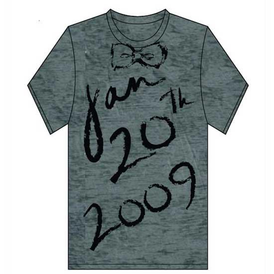 Obama Inauguration Fashion- ZacPosenT inaguration tee
