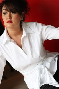 A Plus- Size Woman's Guide for Shopping- The White (or any colored) Crisp Button-Up Blouse