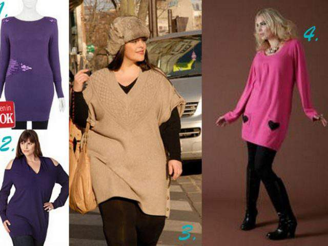 Knit Wit- A round up of the chicest plus size knits