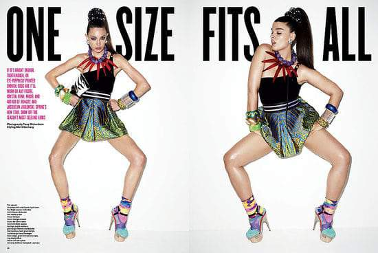 Sneak Peek- Plus Size Model Crystal Renn V Magazine