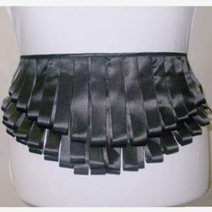 Plus Size Pure Drama Ribbon Belt at Beloved Endeavor