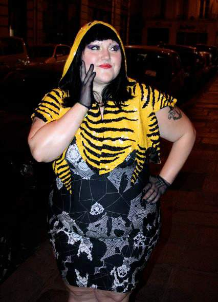 Beth Ditto Dons the Birthday Suit