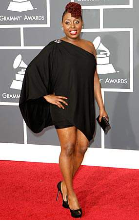 Ledisi at the 2010 Grammys