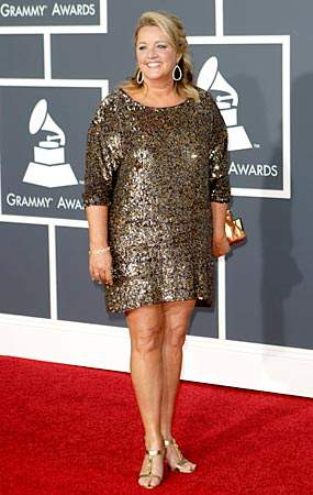 Liz Rose at the 2010 Grammys
