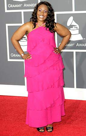 Mandisa at the 2010 Grammy's