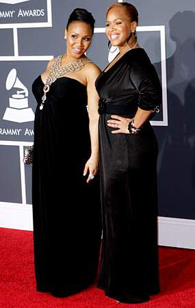 Mary Mary at the 2010 Grammy's