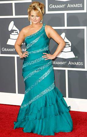 Miranda Lambert at the 2010 Grammys