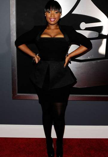 Jennifer Hudson at the 2010 Grammy's
