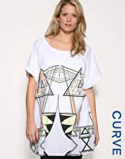 Asos Curve Graphic Tee