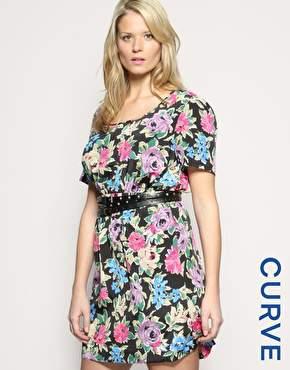 ASOS Curves Floral Dress