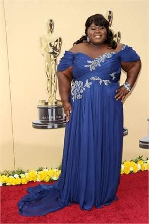 Gabby Sidibe Oscars Dress
