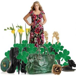 Plus size fashions for St. Patrick's Day