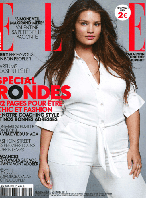 ELLE France, Tara Lynn, and the Curvy Issue