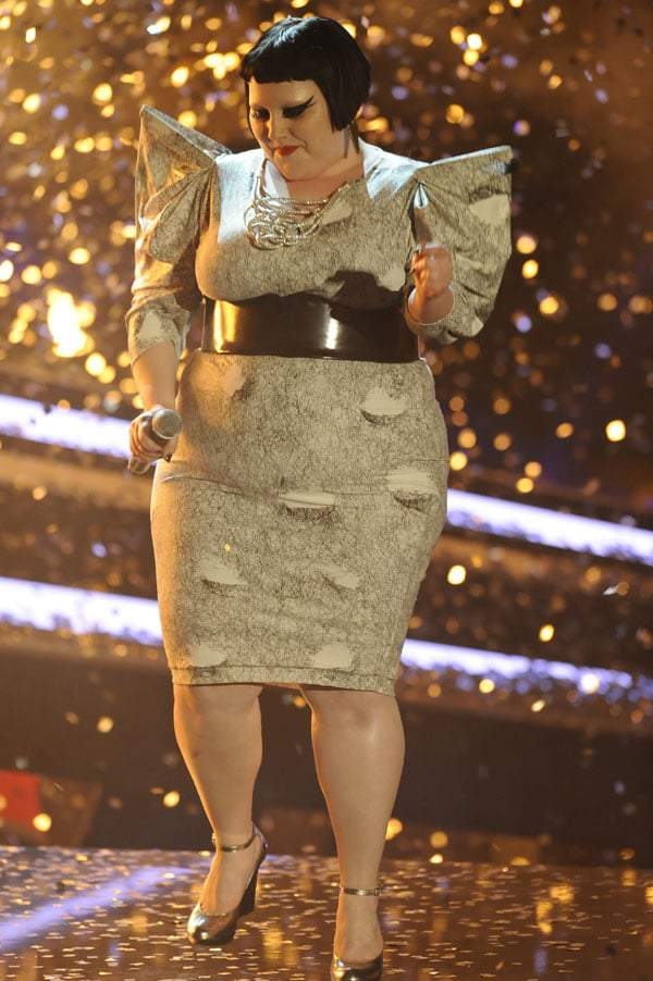 BETH DITTO on On  the German TV show Wetten Dass...?