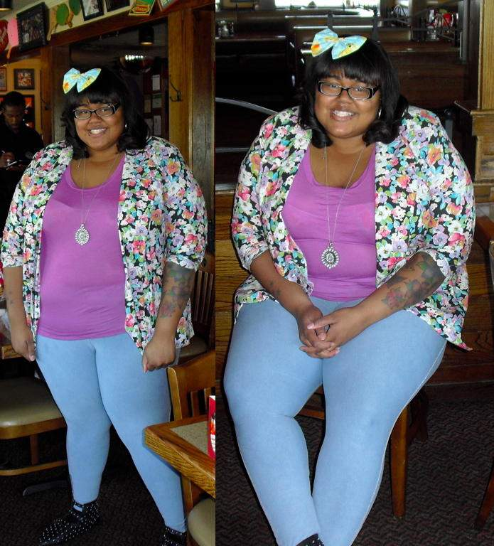 Tiffany from Fat Shopaholic on Show and Tell on The Curvy Fashionista