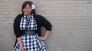 Nikstarr on Show and Tell- The Curvy Fashionista