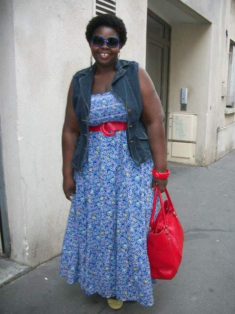 Gaelle on Show and Tell on The Curvy Fashionista