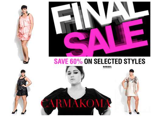 Sure to break your pocketbooks this weekend- Plus Size Sales