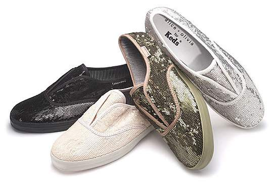 Alice and Olivia Sequin Keds