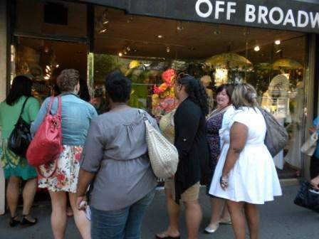 The Shopping Excursion during Full Figured Fashion Week