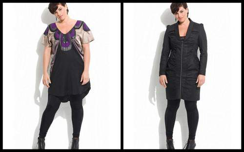 A/W 2010 collection by plus size designer CarmaKoma