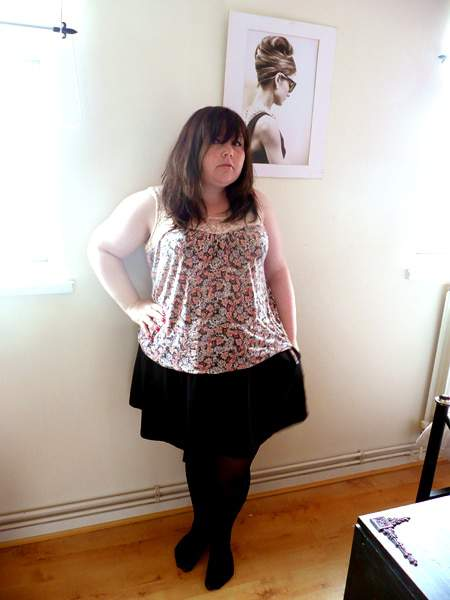 Curvy Blogger LaPocket Rocket on Show and Tell on the Curvy Fashionista