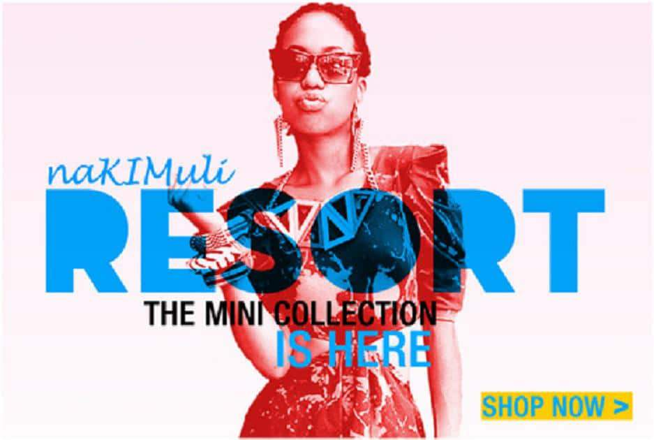 Resort collection preview with Nakimuli