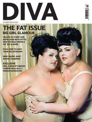 Diva Magazine's Fat Issue