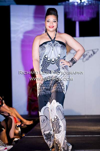 "Full figured Fashion Weekâ""¢ NYC 2010 Finale: Qristyl Frazier"