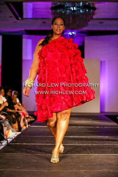 Full Figured Fashion Week Finale: Bella Donna Tribute to Charles Coleman