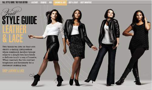 Bloomingdales\' Plus Size Style Guide- A first and nicely done