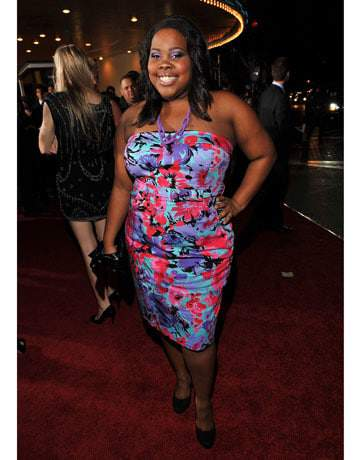 Amber Riley at the Twilight premier