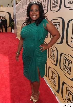 Amber Riley at the TV Land Awards