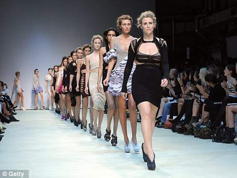 Beyond size zero at London Fashion Week