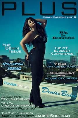 PLUS model Magazine's Denim Issue and more!