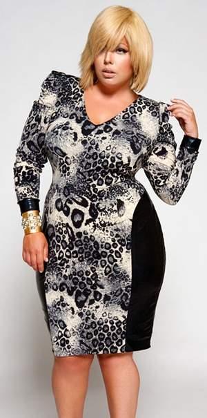 Plus Size Designer Monif C. Fall 2010 Collection