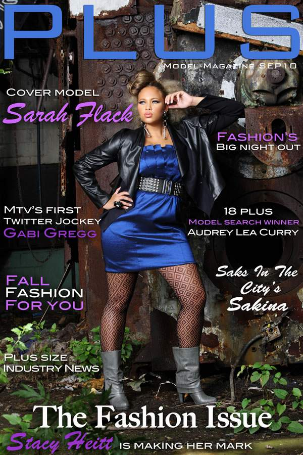 The Plus Mode Magazine September edition: Sarah Flack