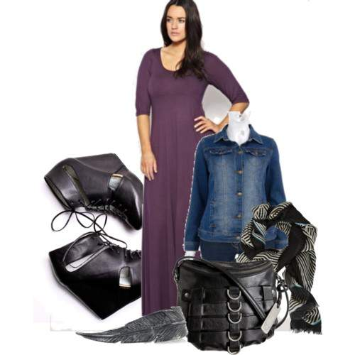 Fall 2010 Plus Size Trend Alert: The Jersey Maxi
